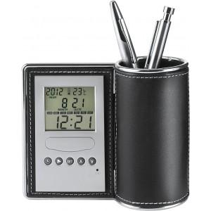 Asztali tolltartó/óra/hőmérő